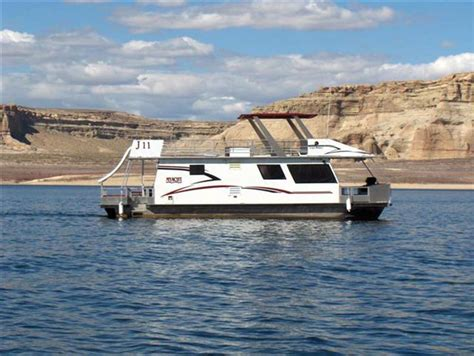 Lake Powell Florida Boat Rentals by 46 Foot Voyager Xl Class Houseboat