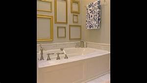Badezimmer Shabby Chic : leere bilderrahmen hinzuf gen goldene glitzern to the shabby chic stil badezimmer youtube ~ Sanjose-hotels-ca.com Haus und Dekorationen