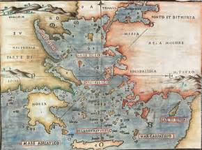 Greece and Aegean Sea Map