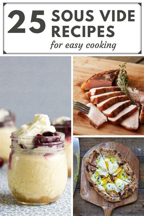 plat cuisiné sous vide best 25 sous vide ideas on sous vide recipes