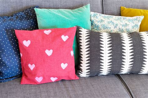 diy pillow covers diy sted pillow cover
