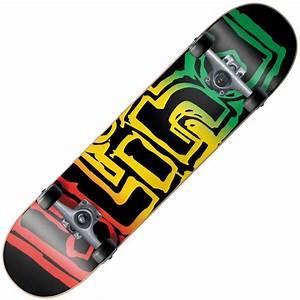 Blind Skateboards Blind Rasta Youth Mid Complete ...