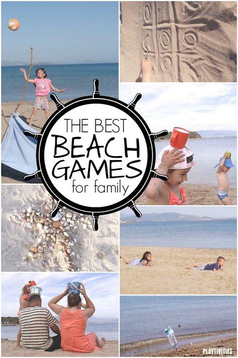 Beach Games For Kids Playtivities