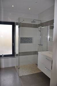 photo quotamenagement de la salle de bain suite parentale With amenagement de salle de bains