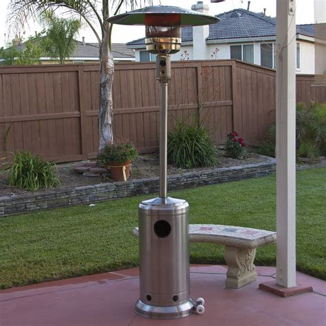 stainless steel garden new stainless steel outdoor patio heater propane lp gas commercial restaurant
