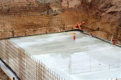 Risse In Bodenplatte by Hausneubau Keller Oder Fundamentplatte