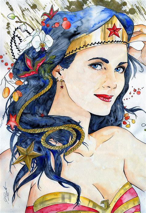 Wonder Woman By Gisapizzatto On Deviantart