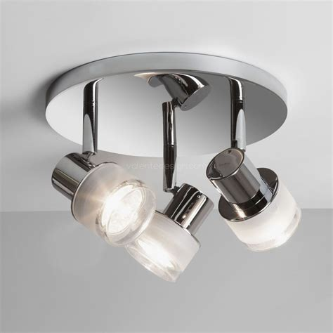 Awesome Plafonnier Rond Triples Spots Pour Salle De Bain by Plafonnier Tokai Chrome Astro Lighting