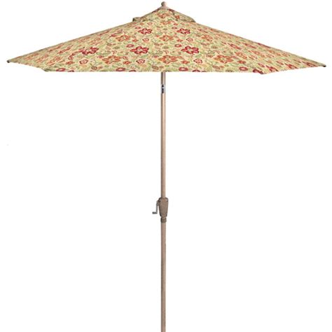 lovely floral patio umbrella 2 better homes and gardens