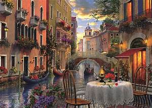 Romantic Supper Jigsaw Puzzle