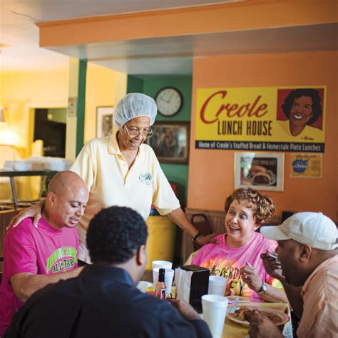 creole lunch house lafayette s plate lunch paradise louisiana cookin
