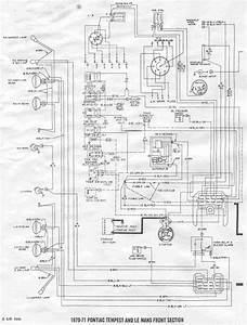 Front Section Wiring Diagram Of 1970