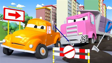 Tom The Tow Truck In Car City