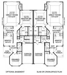 Genius Home Plans Duplex by Atterbury Duplex 5283 2 Bedrooms And 2 5 Baths The