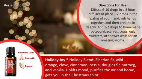 Why Santa Claus Uses Doterra Holiday Joy Oil Blend