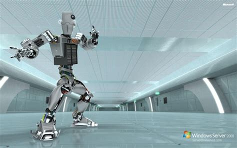 windows server  robot ad wallpapers