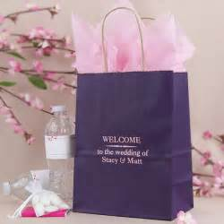 wedding gift bags 8 x 10 custom printed paper wedding hotel guest gift bags set of 25