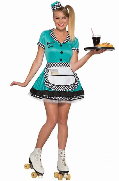 Costume Adult Betty Lou 50s Purecostumes