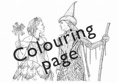 Wicked Coloring Pages Musical Elphaba Colouring Printable