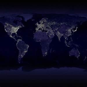 Space - NASA Visible Earth Night City Lights - iPad iPhone ...