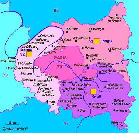 Region Parisienne by Infos Sur 187 Region Parisienne Carte 187 Vacances Arts