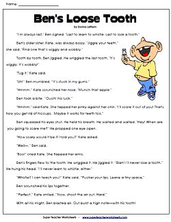 reading comprehension stories superteacherworksheets com reading comprehension worksheets