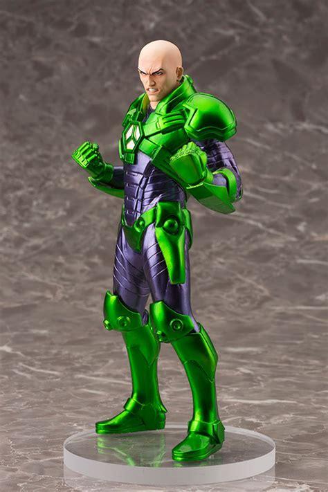 dc comics lex luthor artfx statue figure kotobukiya