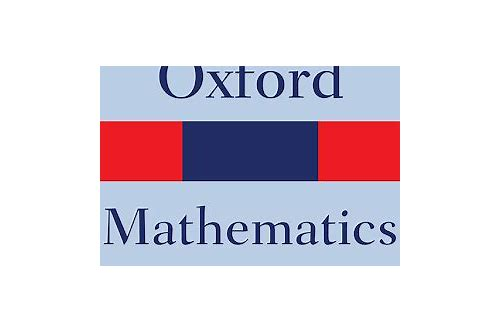 oxford math books free download