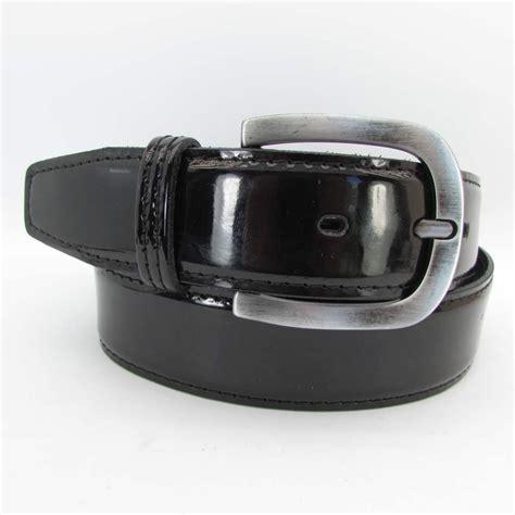 lackguertel schwarz  cm breit