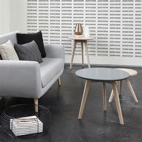 canapé cuir et bois salon scandinave 38 idées inspirations diaporama