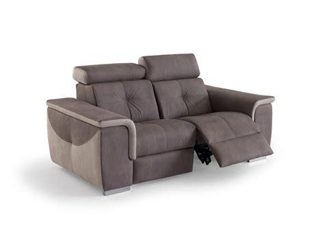 canapé relax moderne acheter votre canapé 2 places moderne avec relax