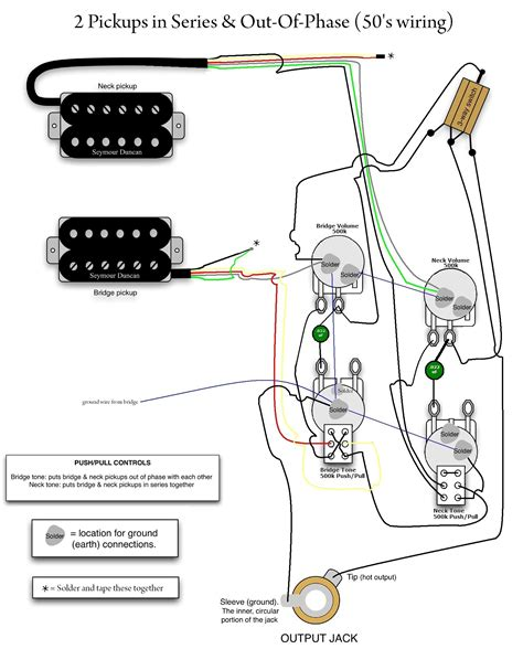 Collection Les Paul Wiring Diagram Download