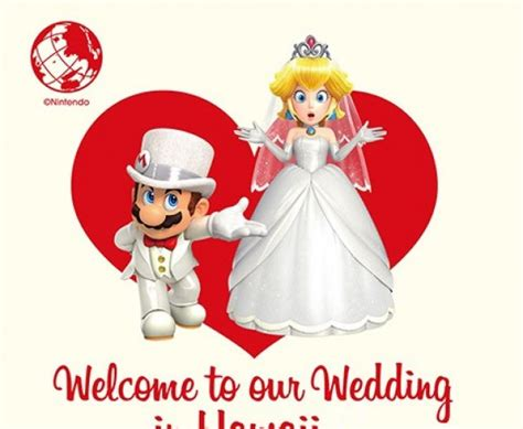 Random There's A Mario And Peach Marriage License