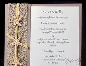 beach wedding invitation diy kit urban starfish natural With beach wedding invitation kits do it yourself