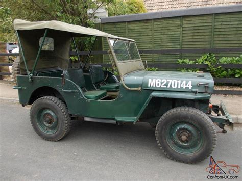 army jeep ww2 ford gpw willys jeep 1944 ex british army ww2