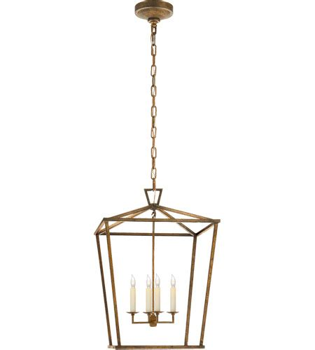 visual comfort lighting visual comfort chc2165gi e f chapman darlana 4 light 17