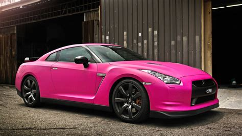 Cool Car Wallpapers Gtr by Cool Nissan Gtr In Matte Pink 1920x1080 Wallpapers My Site