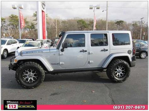 jeep wrangler 4 door silver 2013 jeep wrangler unlimited rubicon 10th anniversary for