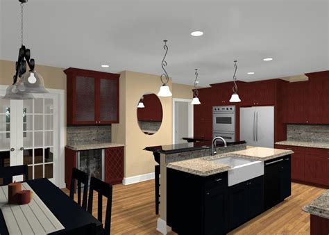 Kitchen Design With Island Layout - different island shapes for kitchen designs and remodeling