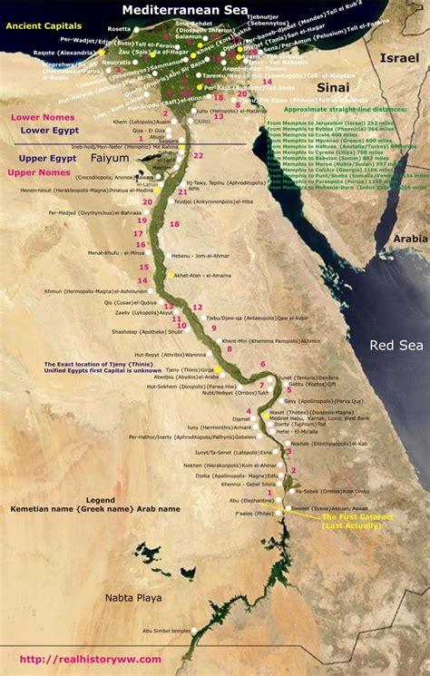 ancient egypt map history egypt map egypt ancient