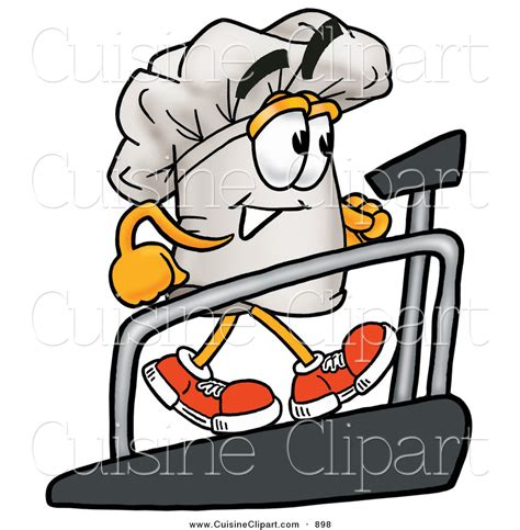 chapeau cuisine royalty free stock cuisine designs of treadmills