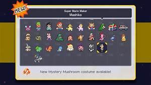 Super Mario Maker - Mashiko Costume Incoming