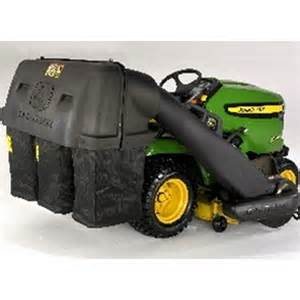 John Deere 48c Mower Deck Wheels by John Deere 3 Bag Collection System For X500