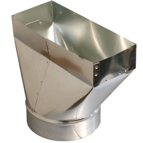 consider a fan located in a square duct duct register boot sheet metal vent