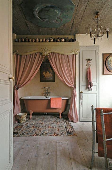 vintage inspired bathroom decor   world