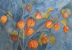 Die Farben Des Herbstes : bild physalis malters luzern orange von sabine bei ~ Lizthompson.info Haus und Dekorationen