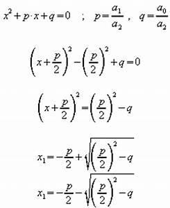 Lineare Funktionen Nullstellen Berechnen : nach division durch a 2 ergibtsich die normalform die mit quadratischer erg nzung weiter ~ Themetempest.com Abrechnung