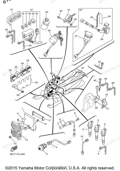 yamaha snowmobile 2012 oem parts diagram for electrical 1 partzilla