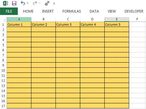 inserting columns  excel worksheet  vba