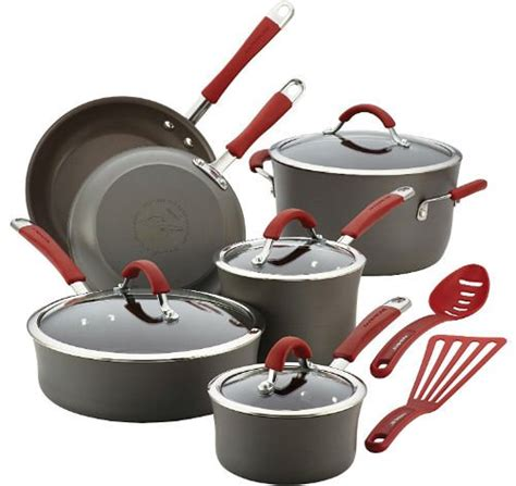 induction cookware sets pans pots nonstick ray rachael anodized aluminum hard buying guide